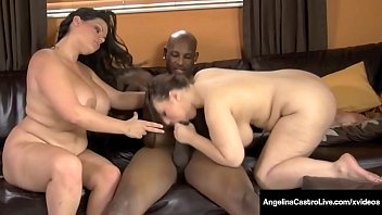 Interracial Fun! Angelina Castro & Lexxxi Lockhart Do A BBC!