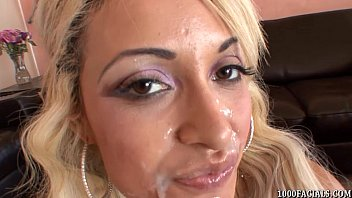 Facial dismorphia Porn superstar london giana takes a facial cumshot