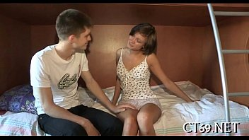 Russian sex style Nice sweetheart gets fucked hard
