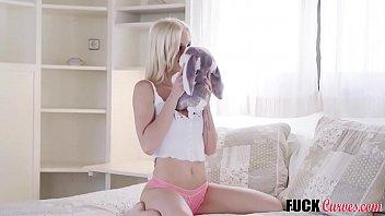 Petite blondie Zazie Skymm has a wild imagination