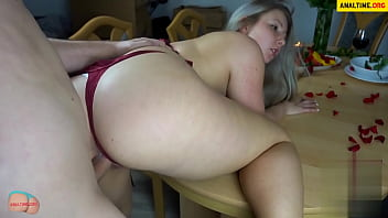 Top ass site - German bbw fucked after a romantic dinner