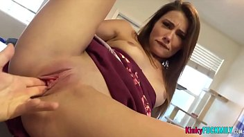 This chick is shamelessly taking advantage of her injured and horny stepdad - FULL SCENE on https://www.kinkyfuckmily.com/