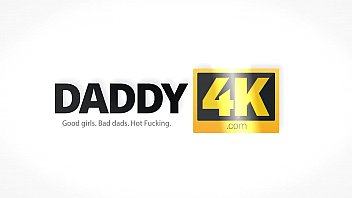 DADDY4K. Dad was eager to have fun with son's beautiful mistress
