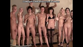 strip ended with an orgy at the party