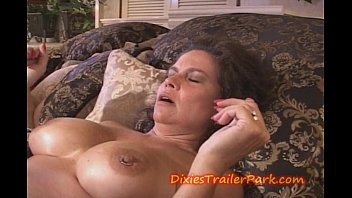 Hustler boat trailer - Two milfs creamed on a boat
