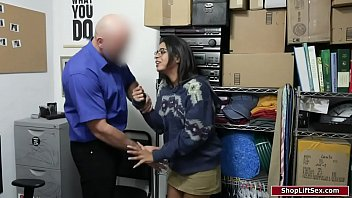 Hot Shoplifter Banged By Pissed Officer