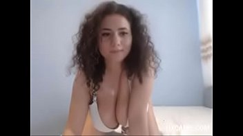 Big Boobs Brunnete On Webcam