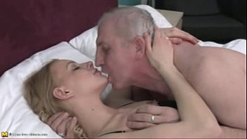 Men with mirco penises - Blonde girl, old men