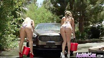 (aj maddy) Big Oiled Ass Slut Girl Need And Like Anal Sex movie-02