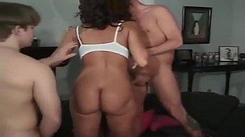 Absolute slut milf threesome