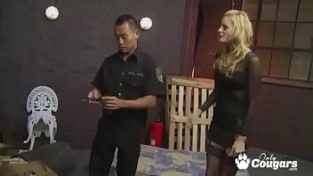 Cougar Diana Doll Fucks Her Way Out Of A Ticket