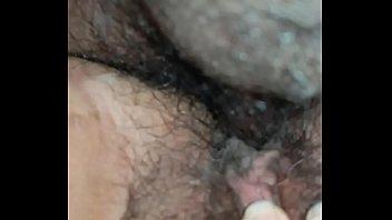 Cumming in my neighbor's hairy pussy