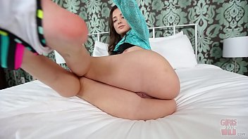 GIRLS GONE WILD - Beautiful White Teen Gia Paige Playing With Her Pussy