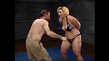 Amazon Gina Body Slammin Bitch Beats Up Alex