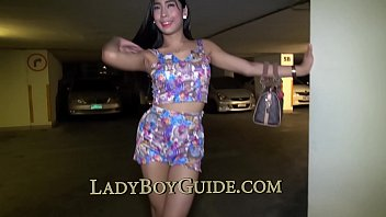 Ladyboy sucks her own cock Voluptuous sweet lipped ladyboy