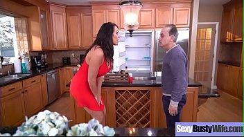 Hardcore Sex On Cam With Busty Sluty Wife (Reagan Foxx) video-21