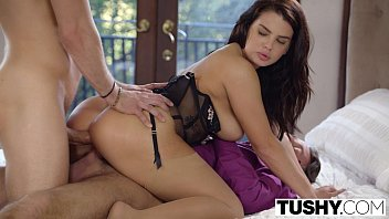 TUSHY Hot Wife Keisha Grey Enjoys Threesome