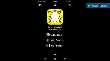 Snapchat - horny indian