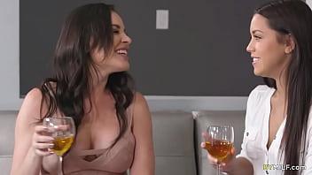 Jealous Housewife Meets Her Hubby's Lesbian Secretary