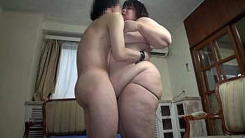 Subtitled Japanese extreme BBW fat body worship in HD