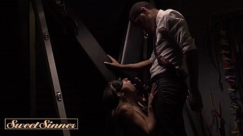 Kinky brunette gets bound and spanked and dominated - Sweet Sinner