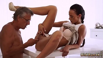 Old guy cum and little granny xxx Finally she's got her boss dick