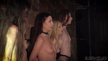Tit fuck slut bondage cartoon 4 slaves punished and humiliated by master he fucks and slaps them