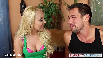 Sexy Blonde Aaliyah Love Suck And Fuck A Big Dick