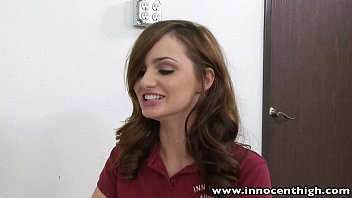 InnocentHigh Valentine Special Teen Lily Carter fucked squirted