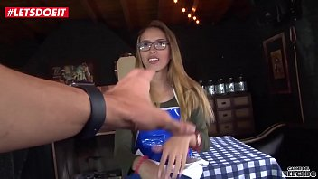 LETSDOEIT - Petite Colombian Teen Lucia Vergara Gets A Huge Facial