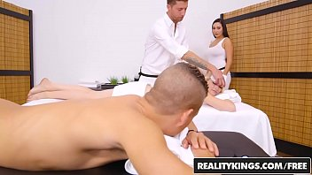 RealityKings - Sneaky Sex - Super Hot Masseuse thumbnail