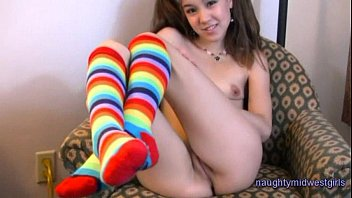 Socks cute fucking Amai-liu-pigtailsandstockings-tubeclip-nmg