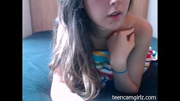 Teen Playing in Fornt of her Cam - TeenCamGirlz.com