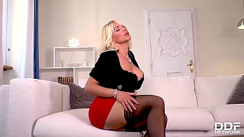 Sucking feet porn Dildo sucking and fucking solo with blonde hungarian milf tiffany rousso