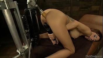 Big tits Gia DiMarco fucking machine