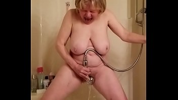 Elderly women porn over 60 Big tit gilf reaches orgasmic summit by marierocks