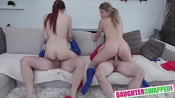 Taylor Blake, April Snow Softball Diamond Daughter Dick Down