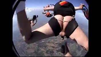 Gay jump crush Raw parachute jump, but forgot one thing...