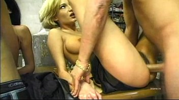Real whores cum with double penetration