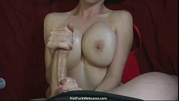 Monster Cock Jizz on GF's Huge Tits - HotFuckWebcams.com