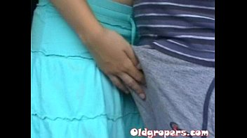 Oldgropers - AnitaStone-Old man groping woman 1