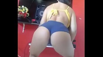 Mulher Muito Gostosa Dançando