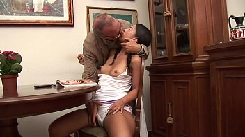 Older father sex pics - Old and shameless father hitting on her young daughter