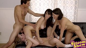 Lesbian three-somes stories Threesome company - three may be company, but four is a party