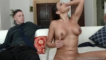 Wife Nailed In Front Of Hubby