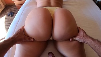 Big Ass in Yellow Panties Needs Cock - 69VClub.Com