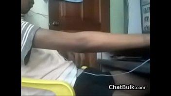 Indian Twink Strips And Masturbates