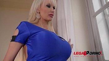 Big busty birthday present leads to Hardcore titty fucking with Sandra Star GP713