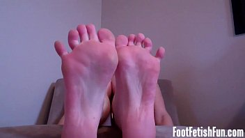 My feet are making your hard aren't they?