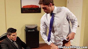 Rocco Reed in an office fuck scene